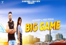 Big Game Lyrics - Miss Pooja